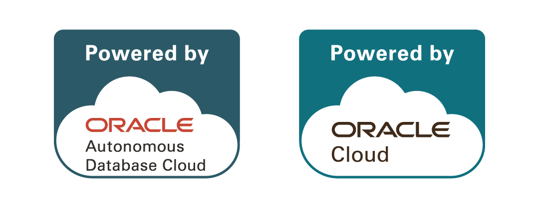 Powered by Oracle badge